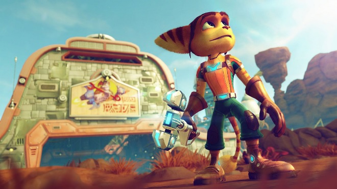 ratchet and clank trailer in