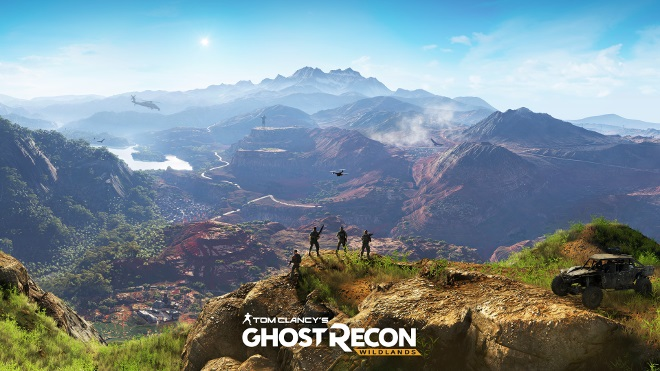 tm ghost recon wildlands e3 2015 in